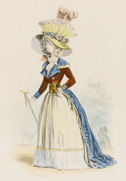 A bourgeois Parisienne just before the revolution
