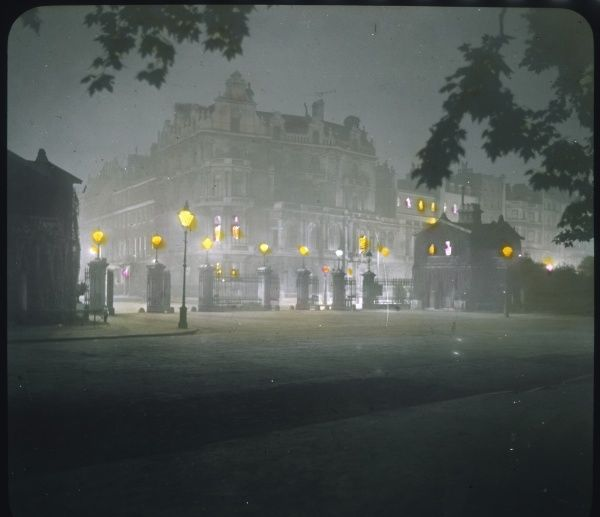 A night view of Park Lane