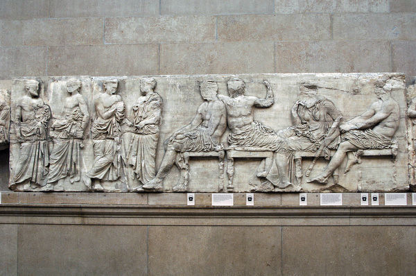 The Parthenon frieze. East side. 447-432BC