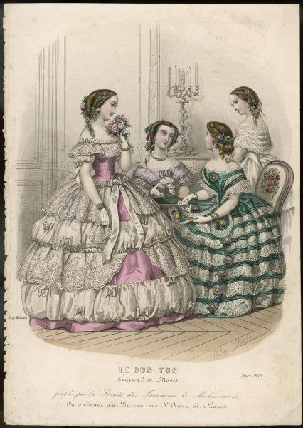 Four ladies chatting at a reception