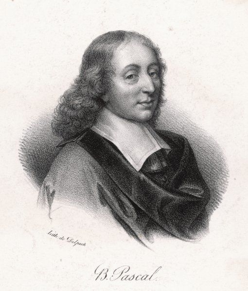 BLAISE PASCAL French philosopher