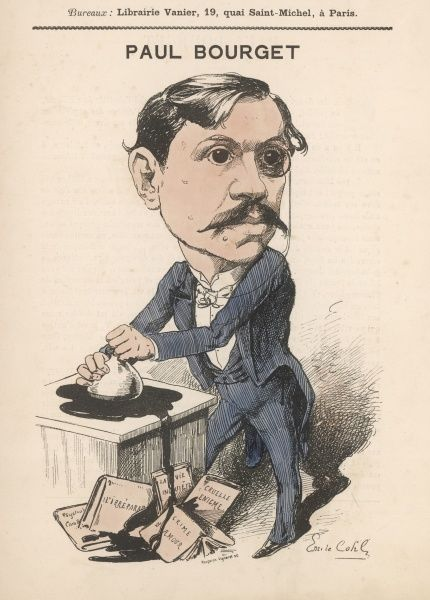 PAUL BOURGET French writer