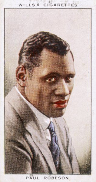 PAUL BUSTILL ROBESON American actor and singer