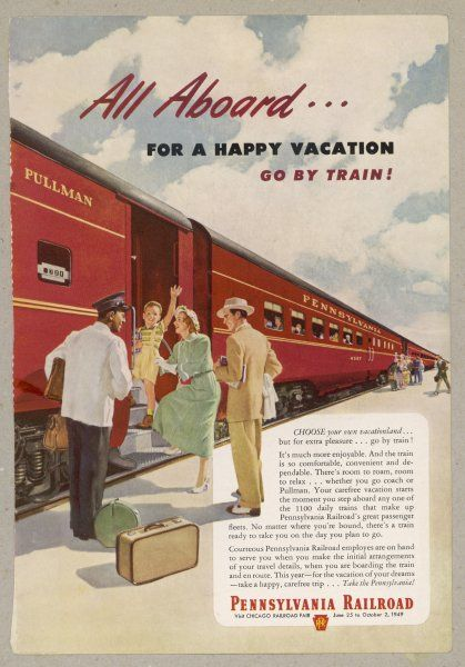 Promoting the PENNSYLVANIA RAILROAD