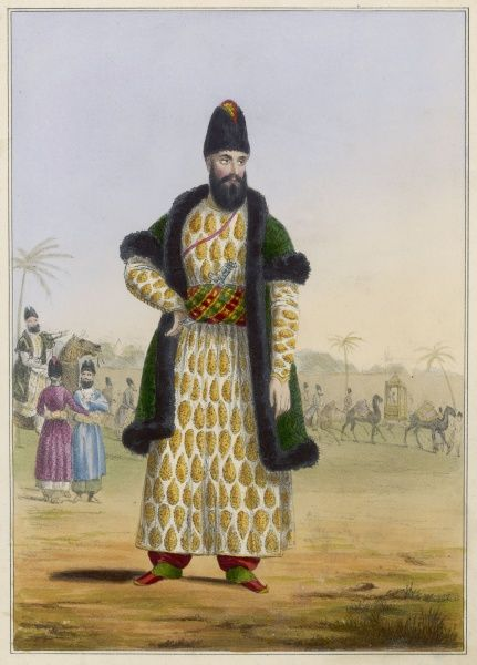 A Persian khan - that is to say, a person of rank
