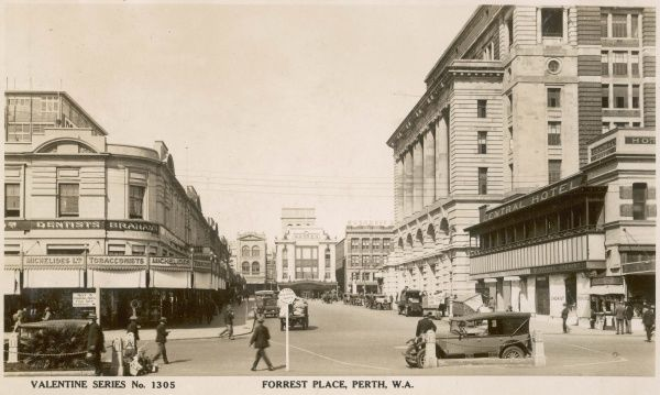 Forrest Place, Perth, Western Australia, c. 1910