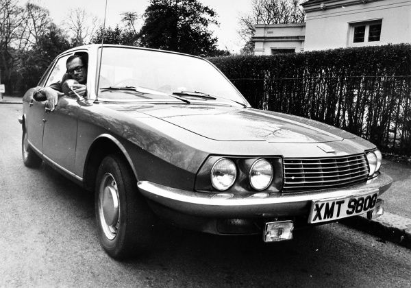 Peter Easton, the successful right hand batsman and his NSU car