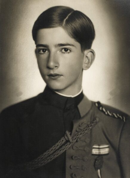 Peter II of Yugoslavia (1923 - 1970), The eldest son of King Alexander I of Yugoslavia. Ascended to the throne at the age of 11 in 1934 following the assassination of his Father in France. His Mother was Princess Maria of Romania