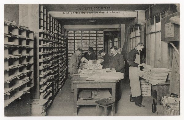 In the Service des Archives, back numbers of the paper can be consulted : 'Le petit Journal' is one of France's leading daily newspapers