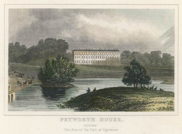 Petworth House, Sussex: seat of the Earl of Egremont