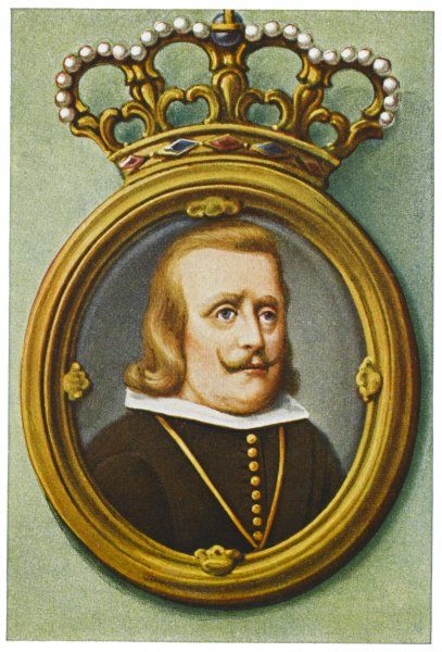 PHILIP IV, KING OF SPAIN reigned 1621-1665 Tried to reform Spain, but was unsuccessful