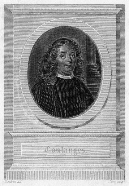 PHILIPPE EMANUEL, marquis de COULANGES Relative and correspondent of Madame de Sevigne. Date: 1631 - 1716
