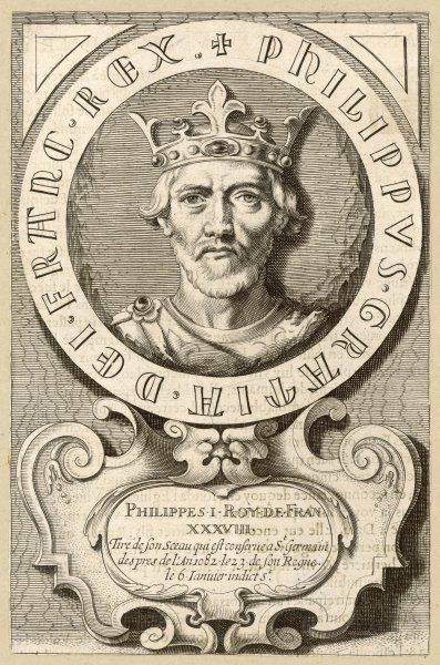 PHILIPPE I, king of France