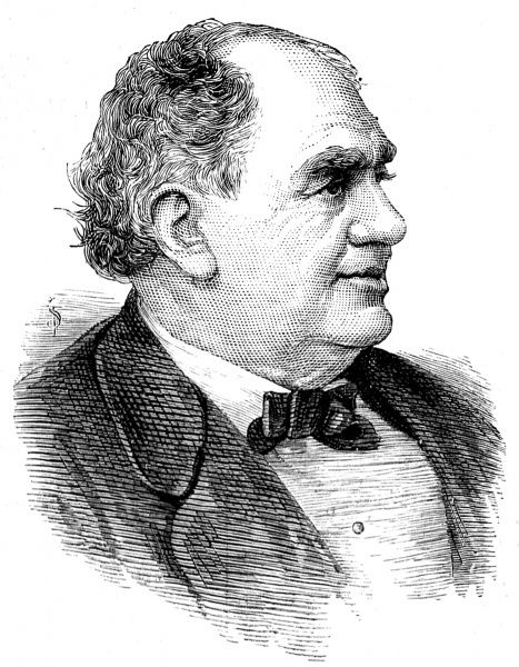 Portrait of Phineas Taylor Barnum, the American showman and promoter, pictured in 1884