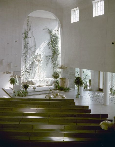 The chapel of resurrection, inaugurate 1941. Architect: Erik Bryggman (1891-1955). Date
