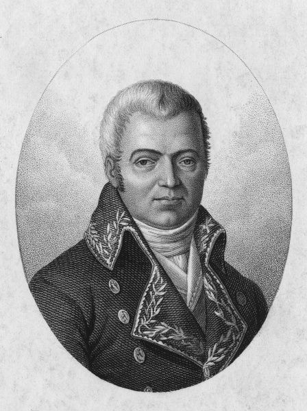 PIERRE AUGUSTE BROUSSONET French naturalist (evidently in military or naval service) Date: 1761 - 1807