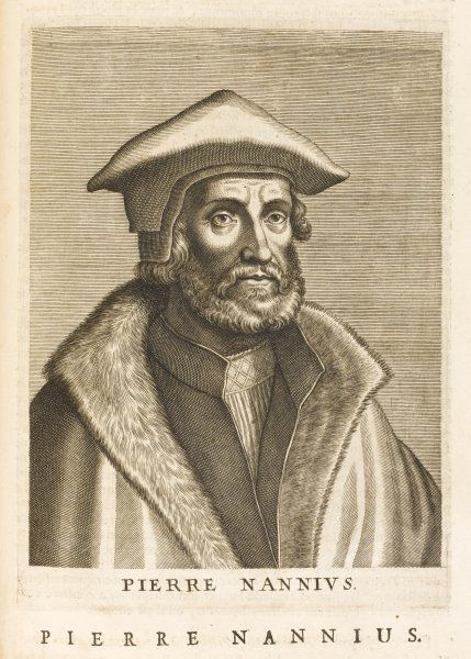 PIETER NANNINCK known as NANNIUS Dutch scholar
