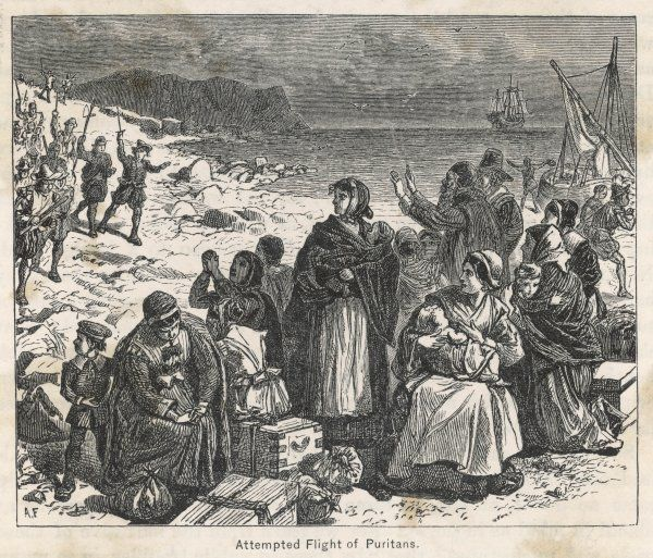 The first shipload of pilgrims under John Robinson and William Brewster get as far as Holland but are forced to stay there until 1620
