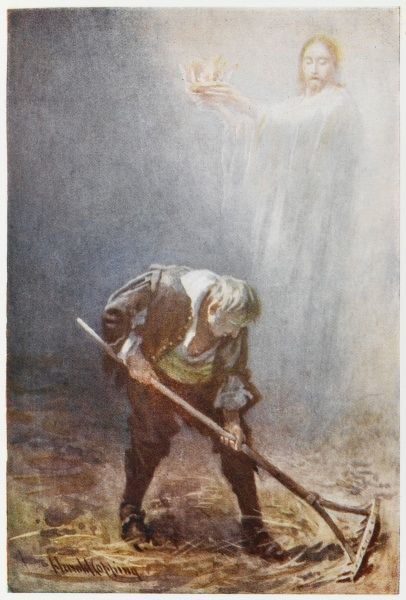 The Man with the Muck-Rake, who could look no way but down