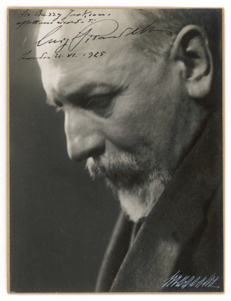 LUIGI PIRANDELLO Italian novelist and playwright, author of 'Six characters in search of an author' etc.#