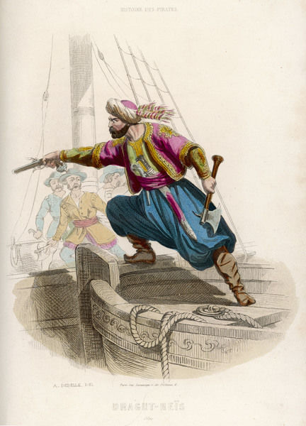 Ottoman pirate, successor to Khayr-ad-Din, fatally wounded in an unsuccessful attack on Malta by the Turks and their African allies, of whom he was one