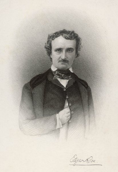 an analysis of edgar allan poe as an american writer Edgar allan poe was born  when she married david poe, and edgar was their  own — not only as a fine writer, but also as a keen critic poe married.