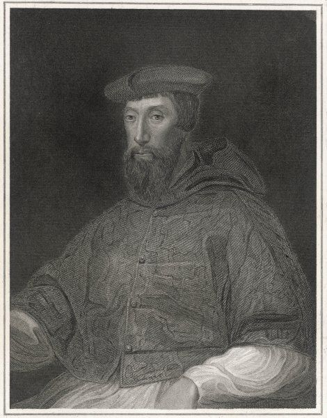 REGINALD POLE Cardinal and adviser to Queen Mary I