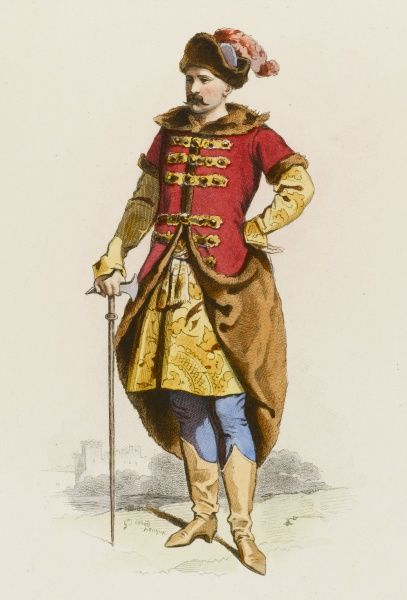 A Polish gentleman of the 17th century
