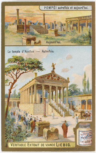 Pompeii 'Yesterday and Today' The Temple of Apollo