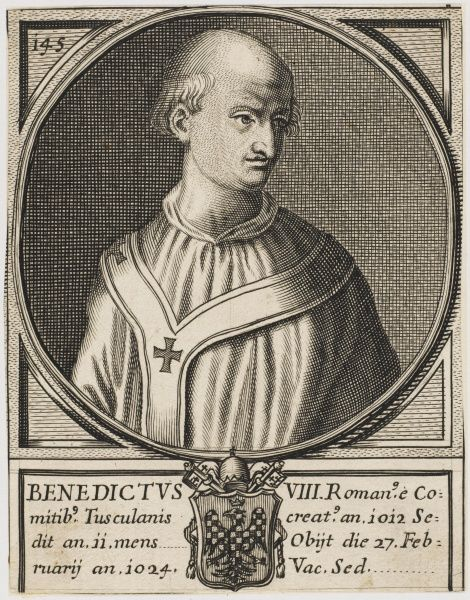 Pope Benedict IX born Theophylactus, the only man to have served as Pope for three discontinuous periods (1032 to 1044, again in 1045, and finally from 1047 to 1048) and the only man ever to have sold the papacy. He was also one of the youngest Popes