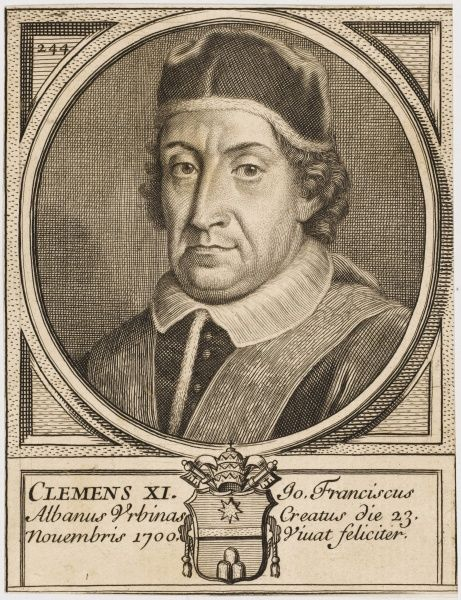 POPE CLEMENS XI (Gianfrancesco Albani)