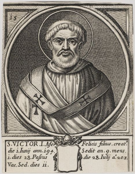 Pope Victor I. Pope and Saint