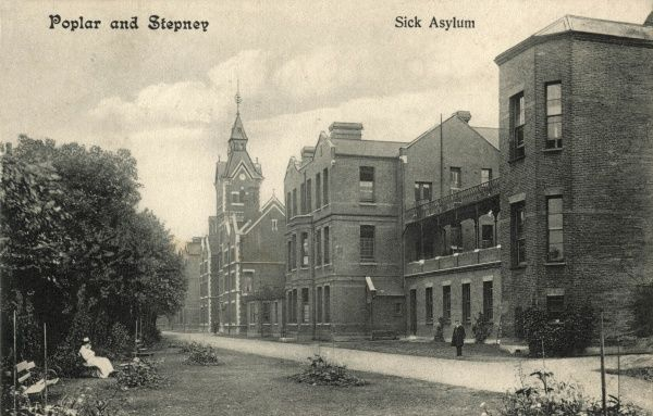 The Poplar and Stepney Sick Asylum was opened in 1871 at Devon's Road in Bow, next to the Stepney workhouse in East London