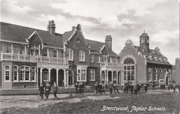 In 1906, the Poplar Union (East London) established a Schools site located between Shenfield and Hutton, near Brentwood, Essex. As well as 'cottage homes', each one housing 30 children, the site had its own schools, infirmary, chapel