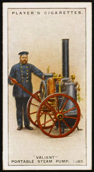 'Valiant' portable Steam Pump. designed and patented by Merryweathers in 1883. A powerful self-contained pumping engine