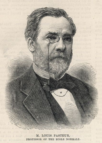 Louis Pasteur (1822-95) studied chemistry under Delafosse