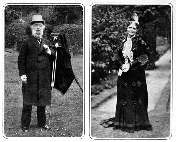 Sir Benjamin and Lady Stone. Benjamin Stone was a Conservative MP for East Birmingham between 1895-1909. He was known for his keen interest in photography and was appointed offical photographer in Westminster Abbey for King George's Coronation