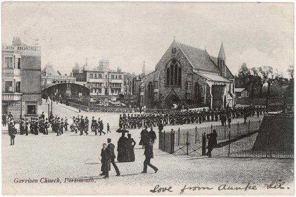 Portsmouth, Hampshire: the Garrison Church