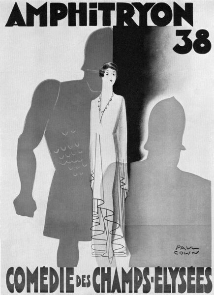 Poster for a theatre Date: 1930