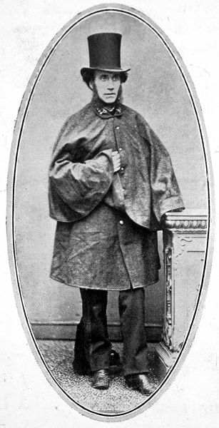 An early photograph of a postman, circa 1840 wearing a cape and top hat. Before postage stamps, he would have to collect payment for each individual letter and deliver post before the introduction of letterboxes