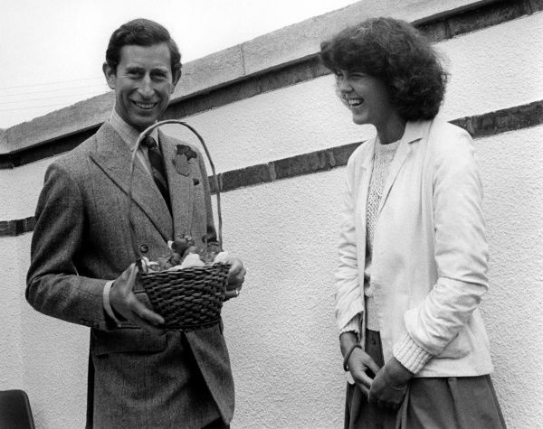 A presentation is made to HRH the Prince of Wales by the Young Farmers' Union at the Royal Cornwall Agricultural Show, which takes place at the beginning of June each year, at Wadebridge in North Cornwall