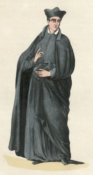 PRIEST OF THE ORATORY (in Italy) Date: 1848