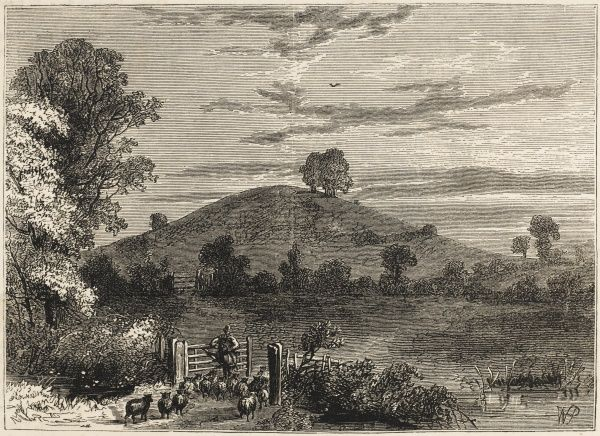 Primrose Hill is still rural in the late 18th century !