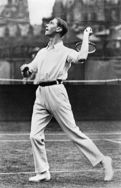 Prince Albert, Duke of York, the future King George VI (1895-1952), was a keen tennis player in the 1920s; in July 1920 with his partner Louis Greig he won the RAF doubles competition