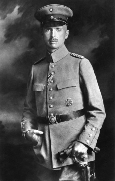 Prince Charles Edward, 2nd Duke of Albany, Duke of Saxe-Coburg (1884-1954) in German military uniform during World War I