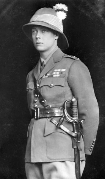 Edward, Prince of Wales (1894-1972), later King Edward VIII and the Duke of Windsor