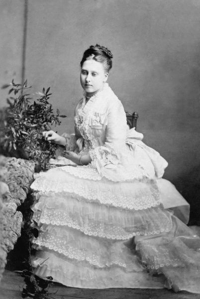 Princess Beatrice (1857-1944), later Princess Henry of Battenberg, youngest child of Queen Victoria and Prince Albert