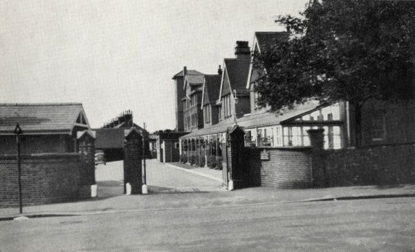 Entrance to the Princess Mary's Hospital, Wilderness Road, Margate, Kent