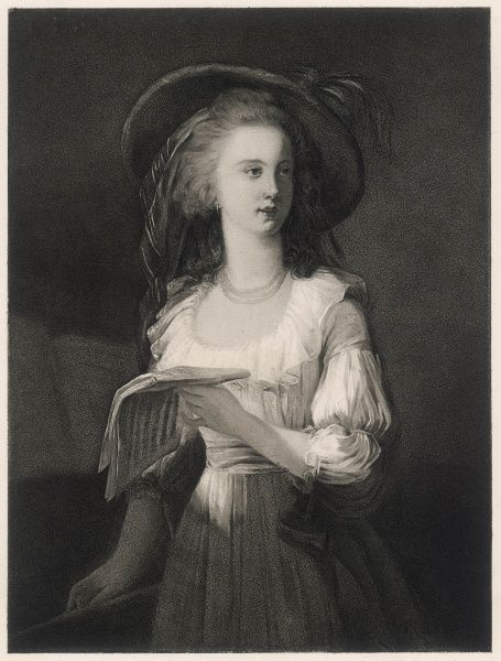 YOLANDE MARTINE GABRIELLE DE POLASTRON, duchesse de POLIGNAC - ambitious and scheming aristocrat, friend of Marie Antoinette and fellow victim of the guillotine