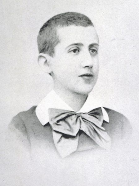 PROUST (AGED 14). MARCEL PROUST aged about 14